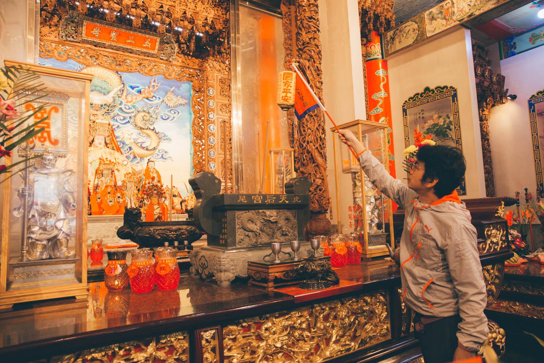 學習進香與廟宇的儀式