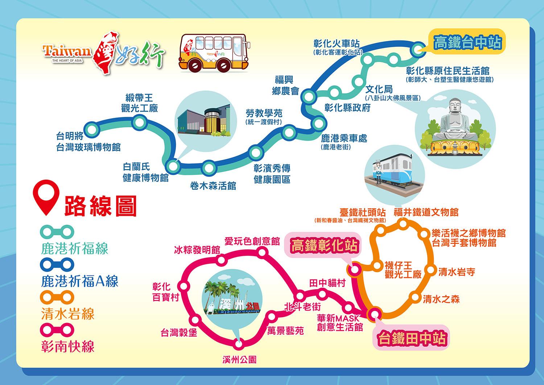 台灣好行路線地圖