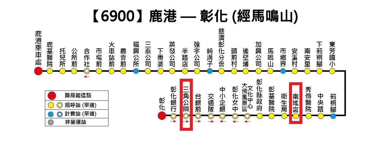 【公共接駁】開化寺←→南瑤宮 公車資訊