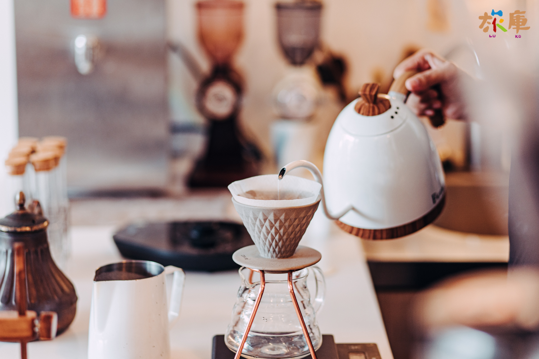 圖6<店內手沖咖啡>
